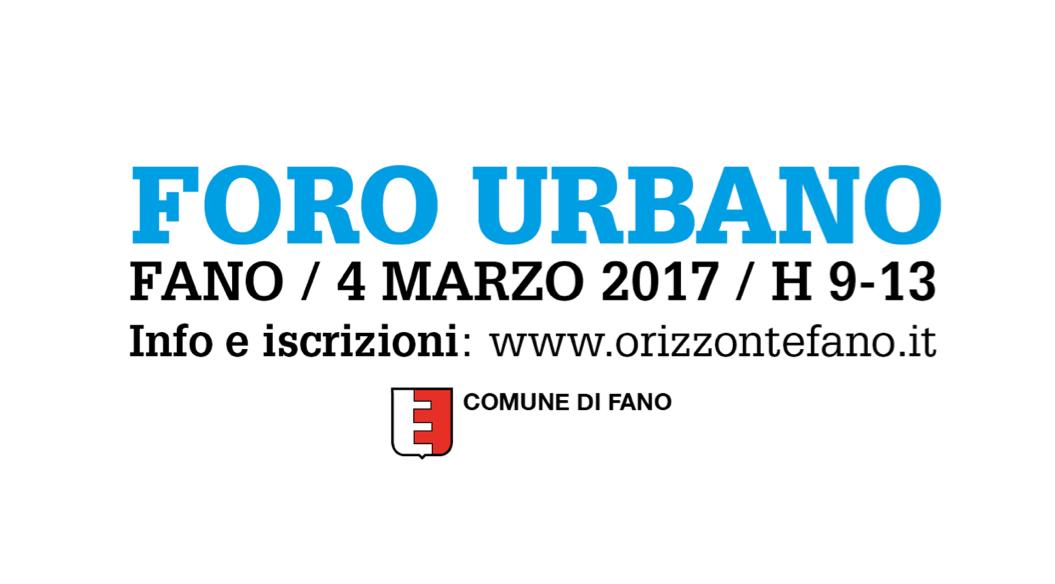 Foro Urbano: tutte le info, stasera, sul canale 17