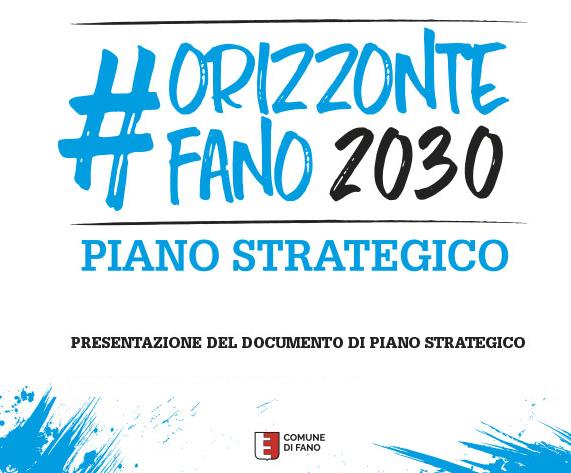 #ORIZZONTEFANO2030:   sabato 13 gennaio, alla Memo, la presentazione del Documento di Piano Strategico